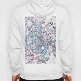 Minneapolis map Hoody