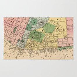 Vintage Map of Halifax Nova Scotia (1878) Rug