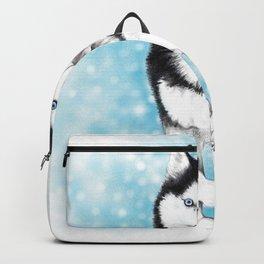 Siberian Husky Backpack