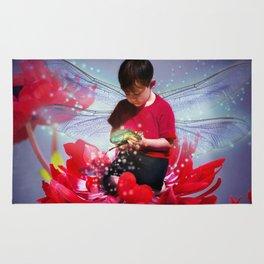 Red Bug Fairy Rug