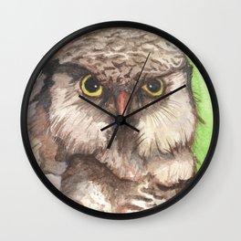 Northern Hawk Owl Wall Clock