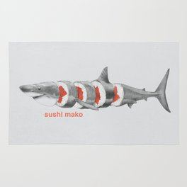 Sushi Mako Rug