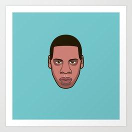 #7 Jayz Art Print
