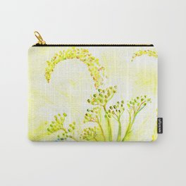 Tansy and Great mullein Carry-All Pouch