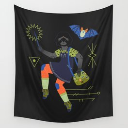 Witch Series: Magic Wand Wall Tapestry