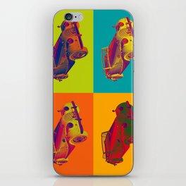 1964 Morgan Plus 4 Convertible Pop Art iPhone Skin