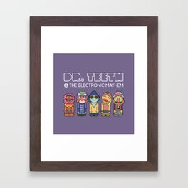 Dr. Teeth & The Electric Mayhem – The Muppets Framed Art Print