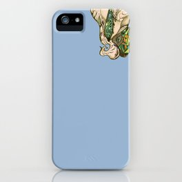 flowing out iPhone Case
