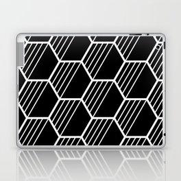 LYLA ((white on black)) Laptop & iPad Skin