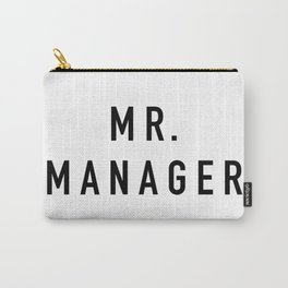 Mr. Manager Carry-All Pouch