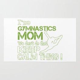 Gymnastics Moms Don't Keep Calm Rug