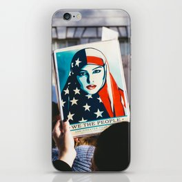 We the People - Women's March London iPhone Skin