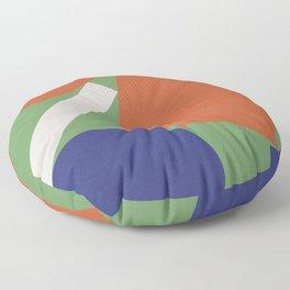 Geometry III Floor Pillow