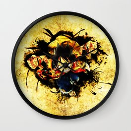 Monkey D. Luffy Wall Clock