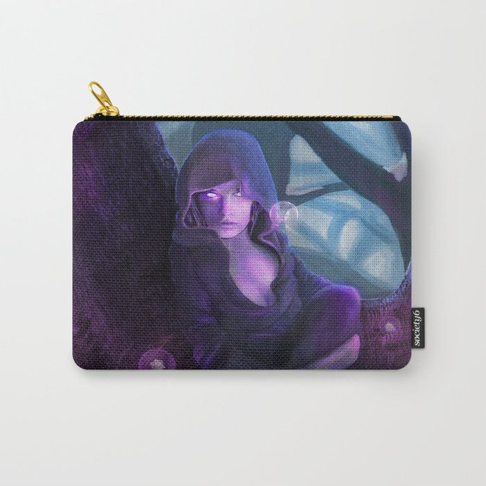Fantasy Telekinetic Woman Carry-All Pouch