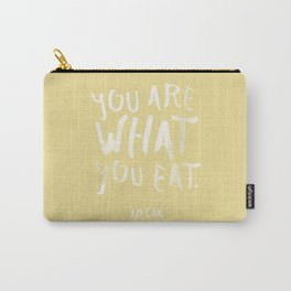 Pizza / Poster, scandinavian, art print, drawings, paintings, type, illustration, motivation Carry-All Pouch