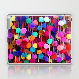 Rainbow Pom-poms (Horizontal) Laptop & iPad Skin