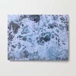 Ocean Waves Metal Print