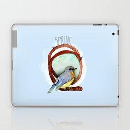 Spring birdy / Nr. 2 Laptop & iPad Skin