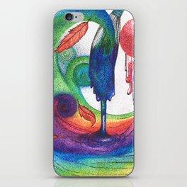 an ocean of color (pointillism) iPhone Skin