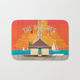 The Beaches Bath Mat