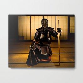 Kendo Metal Print