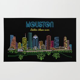 Houston Better Than Ever Circuit Rug