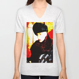 Cotton Club The Ice Queen Unisex V-Neck