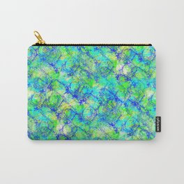 Splatts Brush Pattern Carry-All Pouch