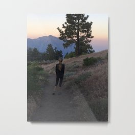 The first time I saw the dawn Metal Print