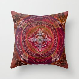 Root Chakra Throw Pillow