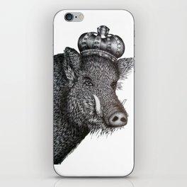 The Boar King iPhone Skin
