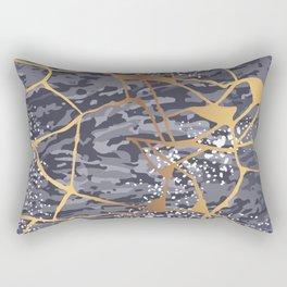 Kintsugi # 1 Rectangular Pillow
