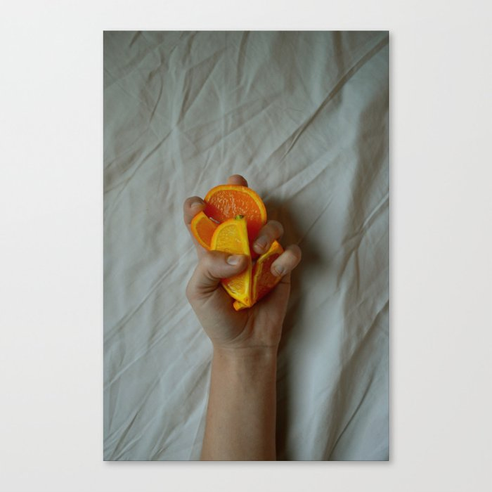 Squeeze Canvas Print