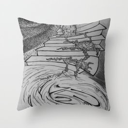 Molten Hour Throw Pillow