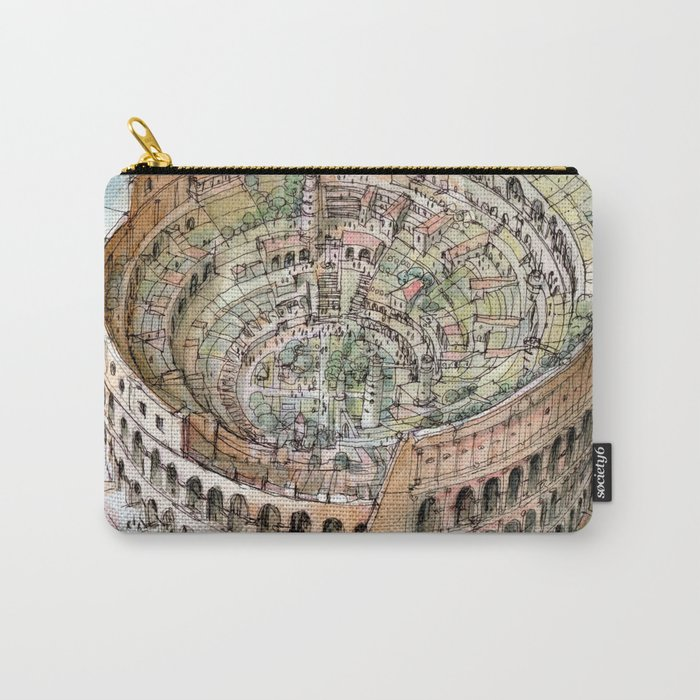 The Colosseo City Carry-All Pouch