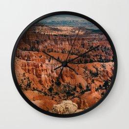 Canyon canyon Wall Clock