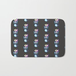 Pixel Angel Ogura Pattern Bath Mat