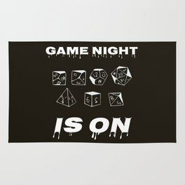 Game night is on Rug
