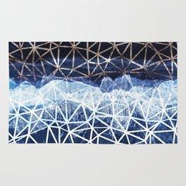 Tropical VIII - Beach Waves Pattern I Rug