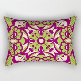 Laughing Faces_Purple Beach Rectangular Pillow