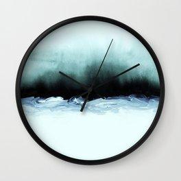 nordic shores 1 Wall Clock