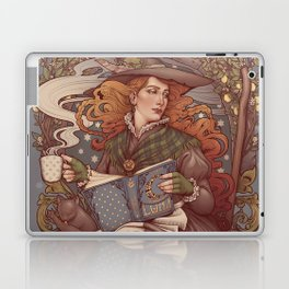 NOUVEAU FOLK WITCH Laptop & iPad Skin
