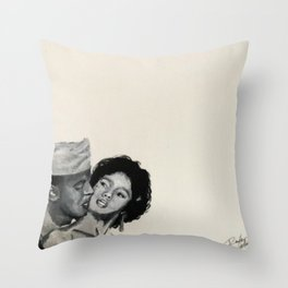 Dorothy & Harry Throw Pillow
