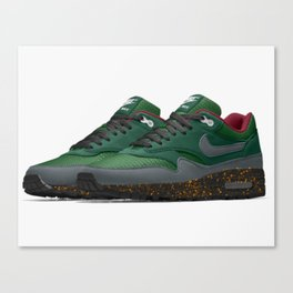 Collard-green Canvas Print
