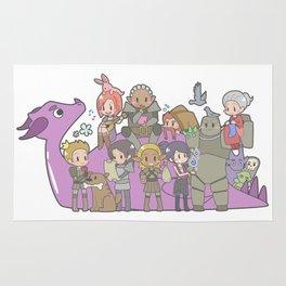 Dragon Age - Origins Companions Rug