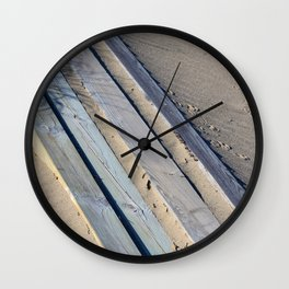 Beach Days Wall Clock