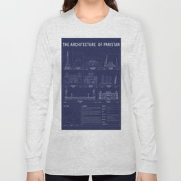 The Architecture of Pakistan Long Sleeve T-shirt