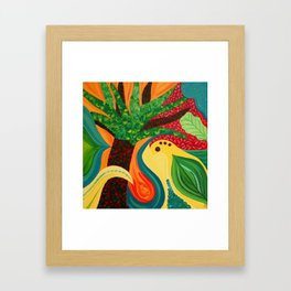 Jungle Dance II Framed Art Print