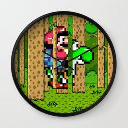 Free Rein Yoshi Wall Clock
